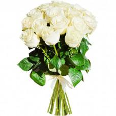 Букет из 15 белых роз